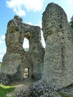 Ludgershall Castle Wiltshire Was A Medieval Royal And Hunting Lodge Of Which Only The