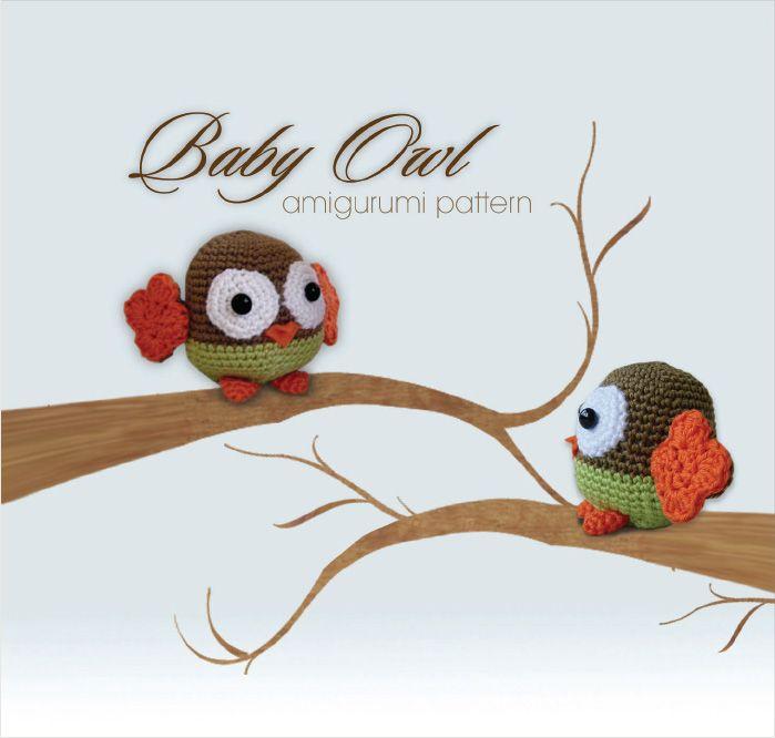 Pepika Amigurumi Pattern - Baby Owl | Crochet | Pinterest