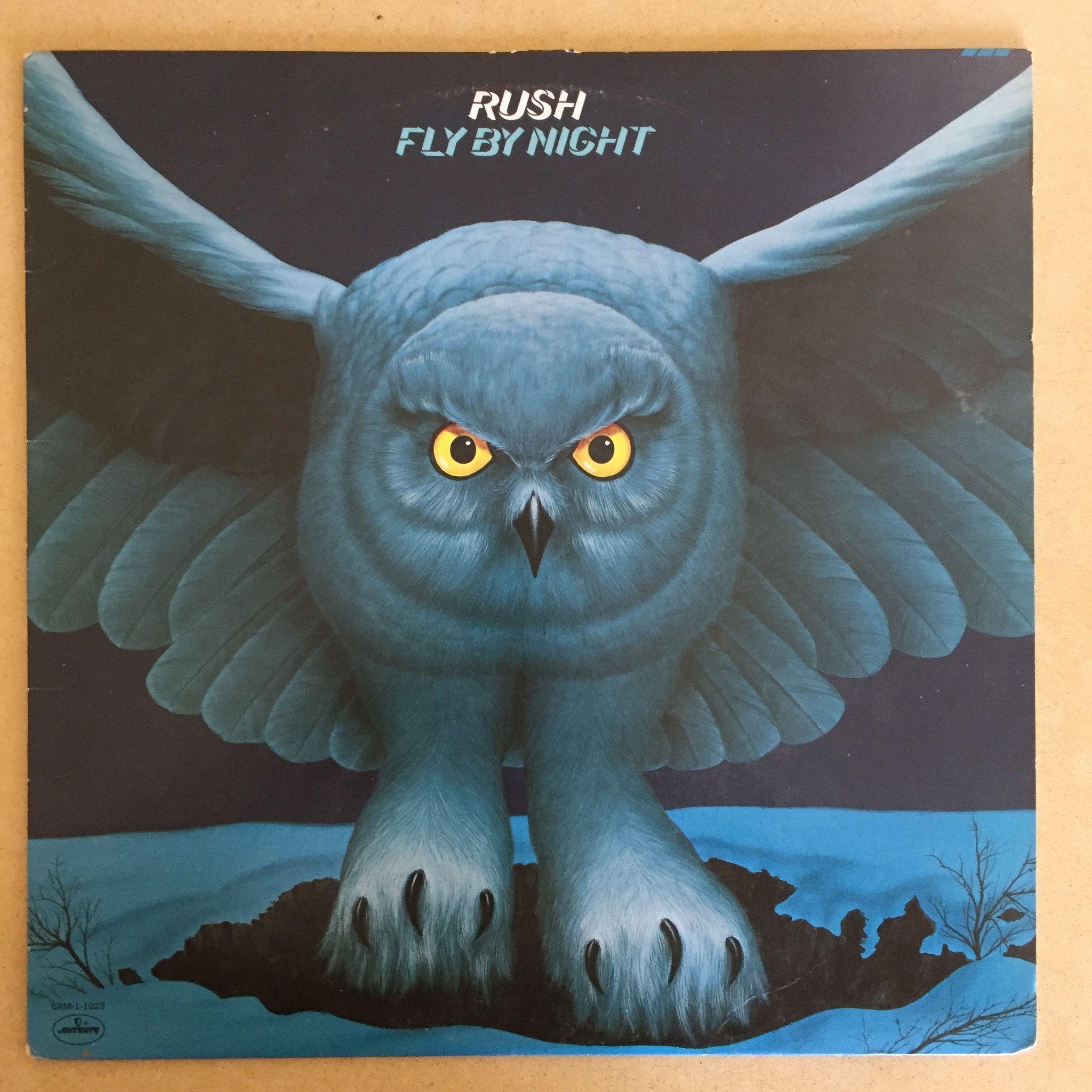 Rush Fly By Night Used Lp Lp Vinyl Vinyl Records Rush Albums