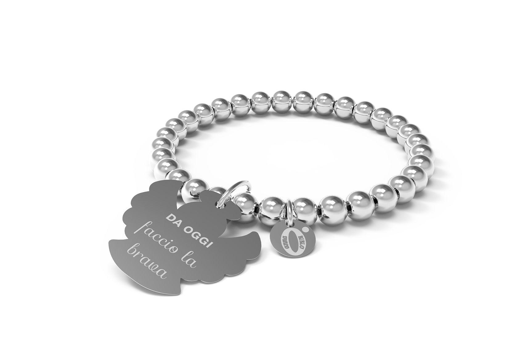 DA OGGI faccio la brava  Discover 10 Buoni propositi collection and find your own resolution!  #10buonipropositi #goodresolutions #steel #madeinitaly #bracelet