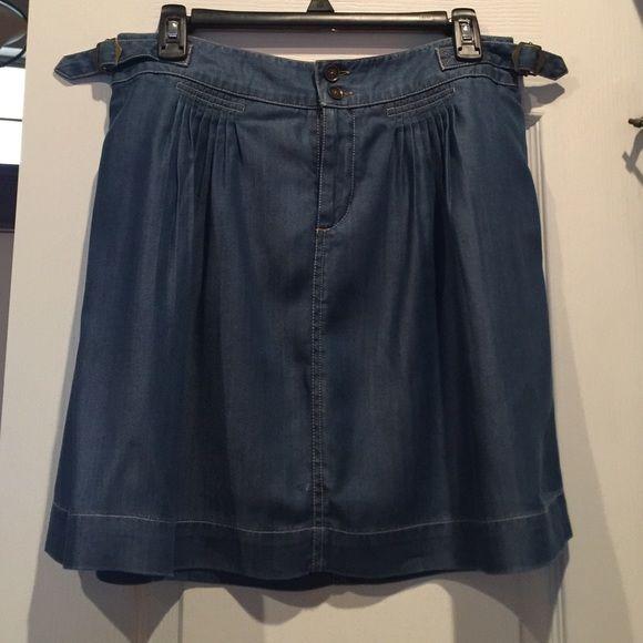Tommy Hilfiger Denim Skirt Like New! Super cute denim skirt. Tommy Hilfiger Skirts Mini