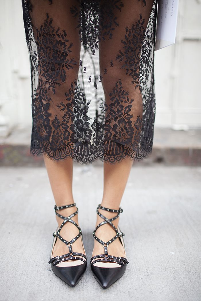 Michelle Mason Leather Caged Sandals