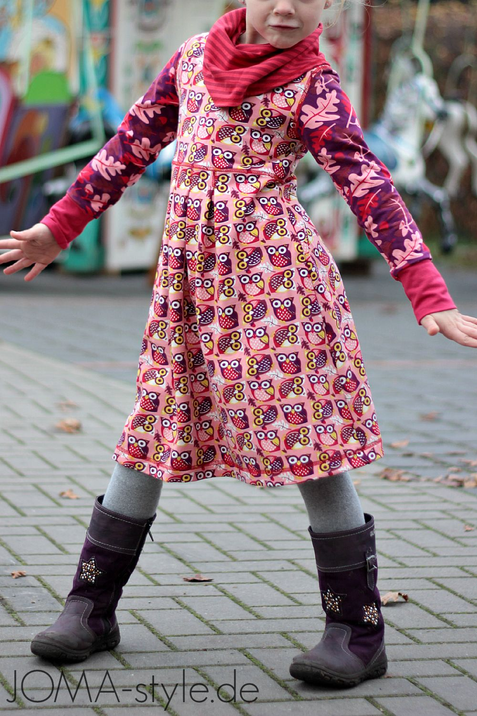 lillesol & pelle Schnittmuster/ pattern: Kleid mit Rollkragen | DIY ...