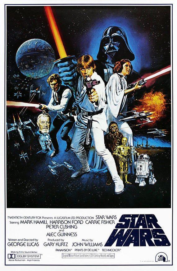 Star Wars Vintage Movie Poster Posters Print Vintage Star Wars Poster Print Darth Vader Luke Skywalk Star Wars Movies Posters Star Wars Poster Star Wars Art