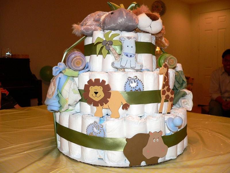 Howtomakeadiapercakewithoutrolling Make A Diaper Cake