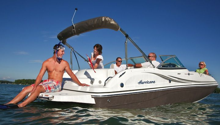 Boat Show Season Rolls On Boat Boat Wraps Hurricane Boats