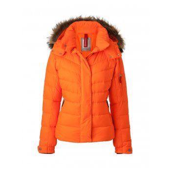 Bogner Bogner Sale-D Womens Ski Jacket in Bright Orange - Bogner from White  Stone UK 3f0e6d35b