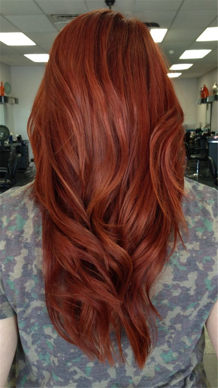 60 Gorgeous Ginger Copper Hair Colors And Hairstyles You Should Have In Winter Women Fashion Lifestyle Blog Shinecoco Com Ginger Hair Color Auburn Red Hair Hair Styles