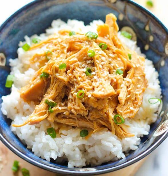 Slow Cooker Chicken Teriyaki (Rice & Stir-Fry Vegetables) - Walmart $30.00 ($5.97) Meal plan! 5 meals