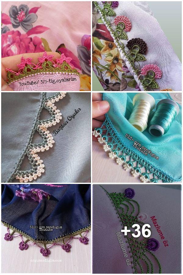 Tığ İşi Oya Modelleri |Crochet Models