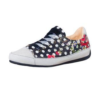 Noir Desigual Ventes Femme Sneakers Topos Brandalley C0qx45EWw