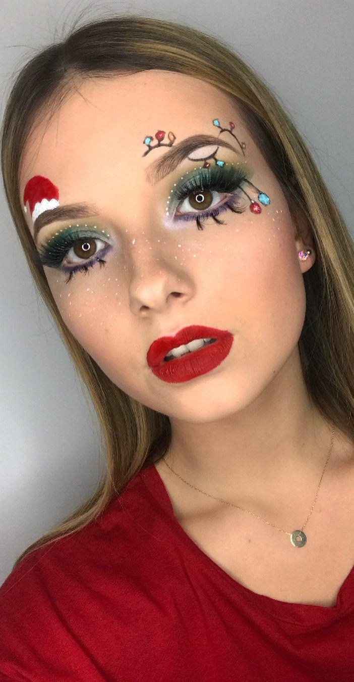 Awesome CHRISTMAS MAKEUP Tips for New Year Eye Makeup And
