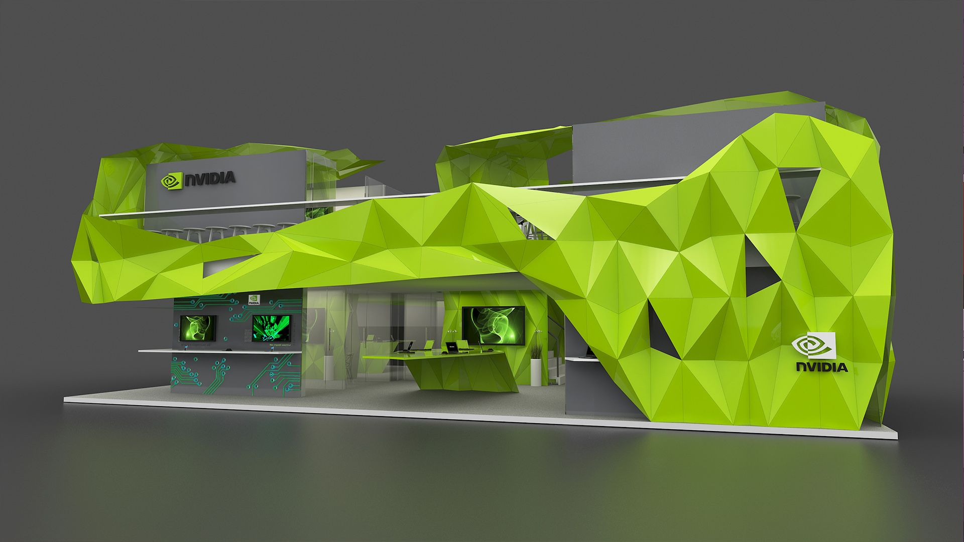 BWS #Nvidia #exhibition stand