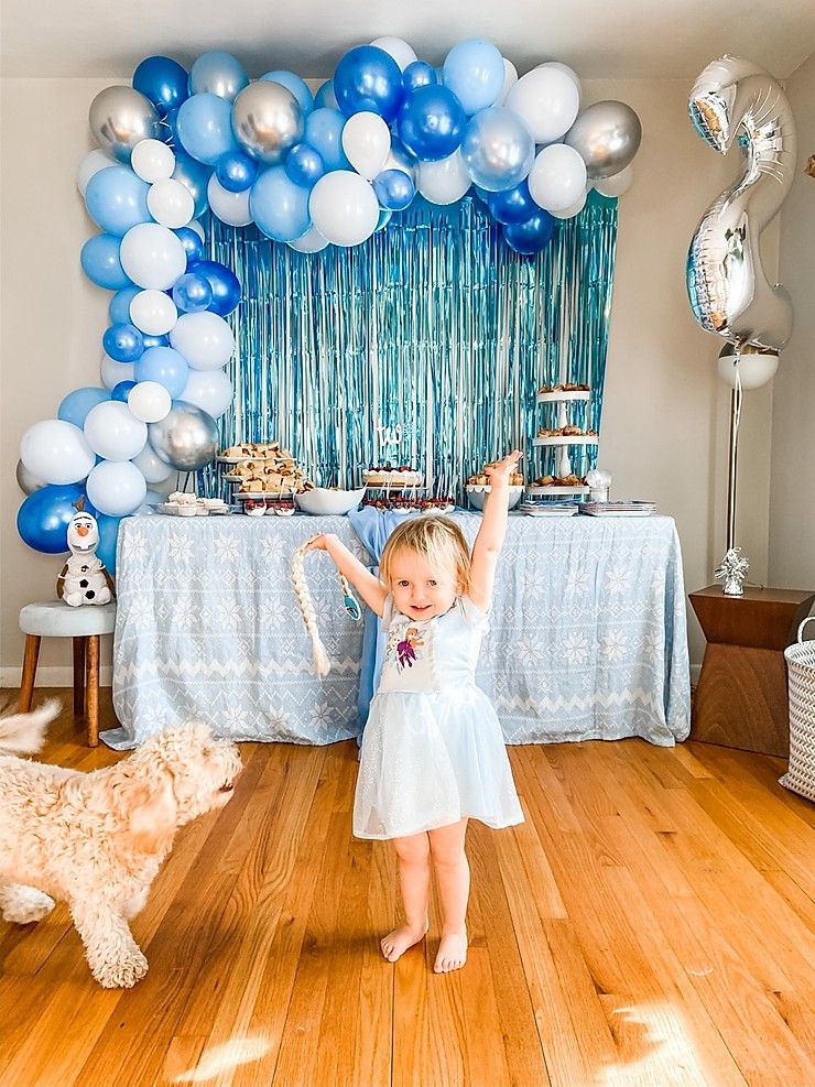 A Frozen 2 Party Frozen Birthday Party Decorations Boys Birthday Party Decorations Frozen Themed Birthday Party