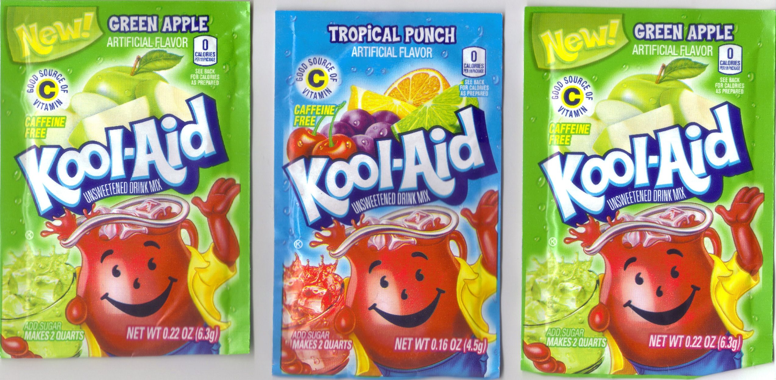 Green Apple Tropical Punch And Green Apple Kool Aid Awesome Flavored Drinks Tropical Punch Kool Aid Flavors