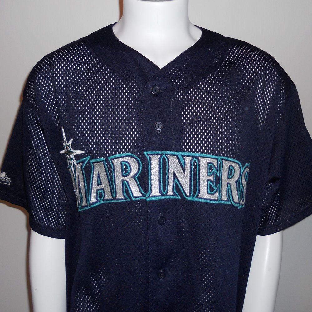 Seattle Mariners Jersey XXL 2XL Majestic Diamond Collection MLB Baseball Sewn #Majestic #SeattleMariners