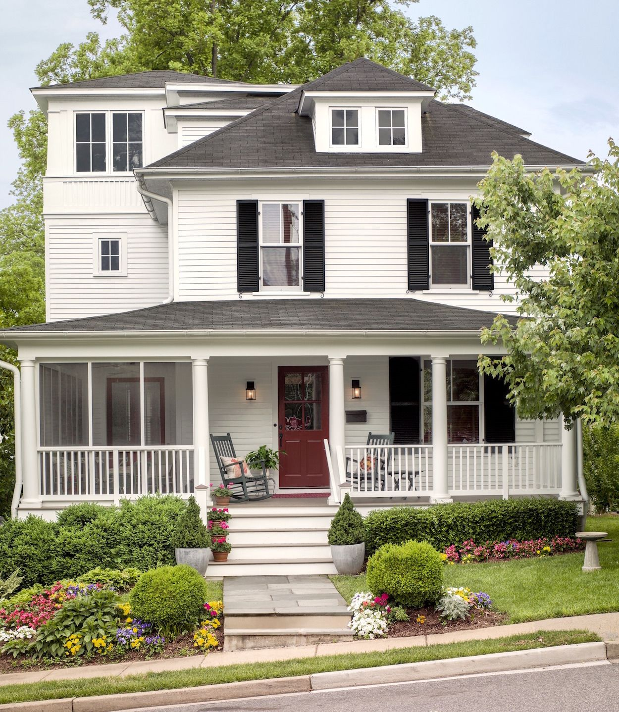 This Old House A Remodel For A Cl Ic American Foursquare A