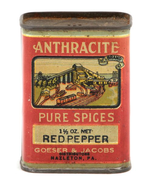 Colonial spice tin | antique advertising value and price guide.