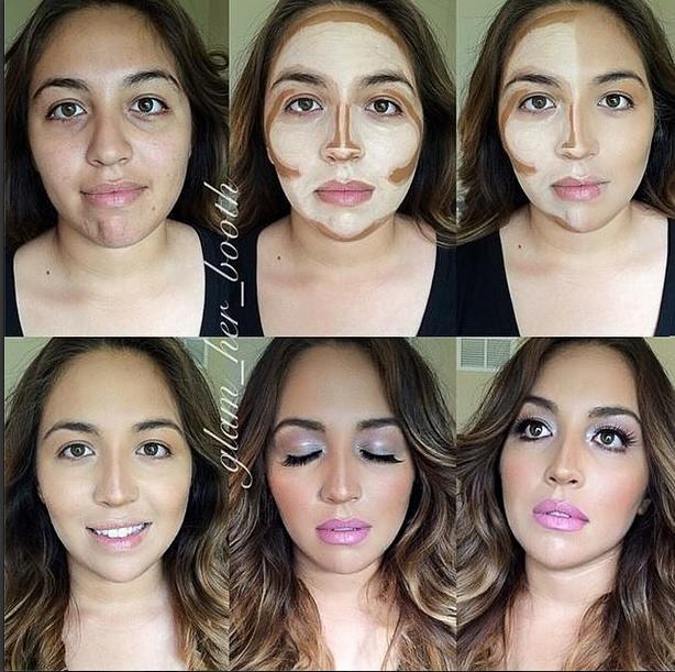 StepbyStep Makeup Tutorials Contour makeup, Beautiful