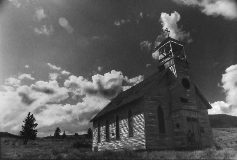 The old church in Creede