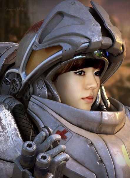 SNSD Sunny Medic / StarCraft Parody