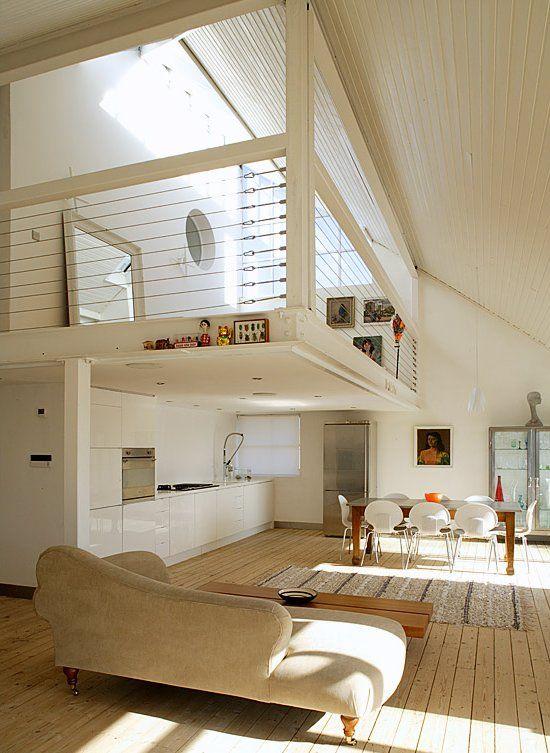 loft space | catwalk and mezzanine | Idée déco appartement ...