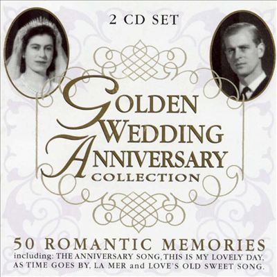 Golden Wedding Anniversary Collection