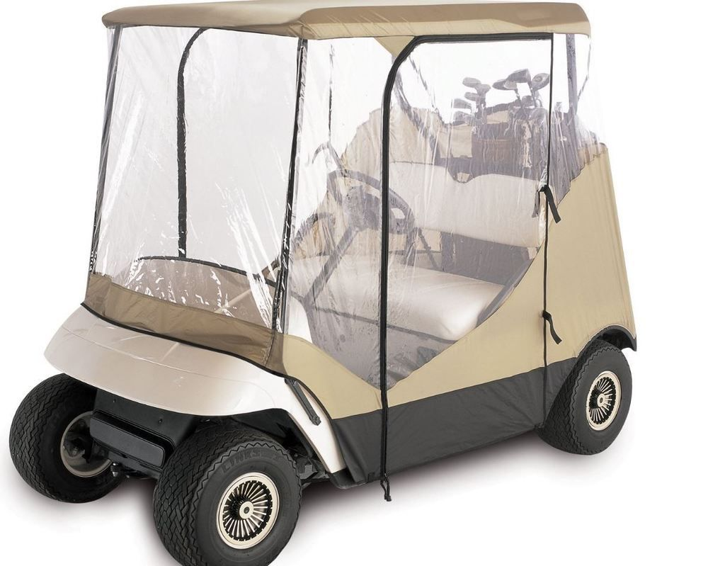 Electric Golf Cart Covers 2 Passenger Rain Cover Ezgo