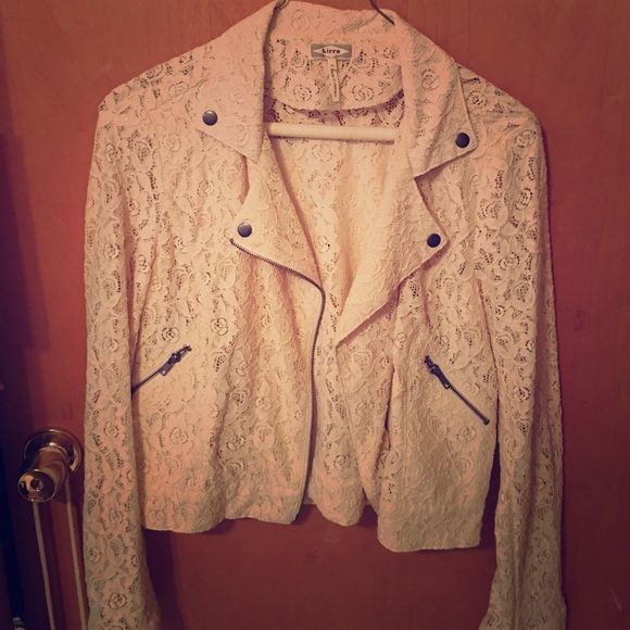 Adorable lace blazer! Worn once, perfect to dress up an outfit. Jackets & Coats Blazers