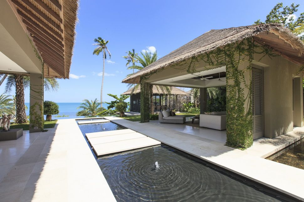 Villa sangsuri on koh samui in thailand is one three luxury holiday homes on the awesome sangsuri estate this six bedroom property is situated on tropical