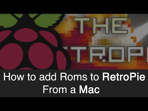 Raspberry Pi - How to add roms to RetroPie from your Mac  - YouTube