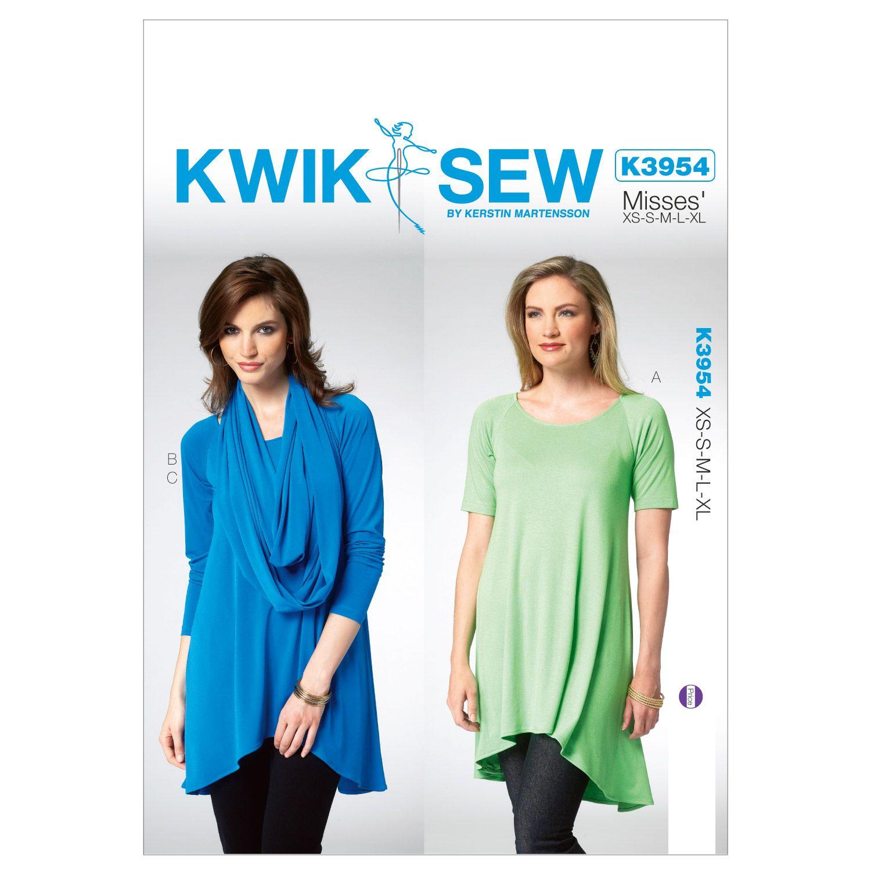 Kwik Sew Misses Top-K3954 | My pins | Pinterest | Costura