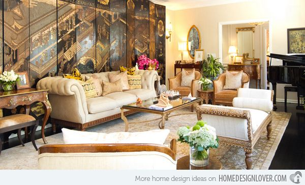 formal living room design