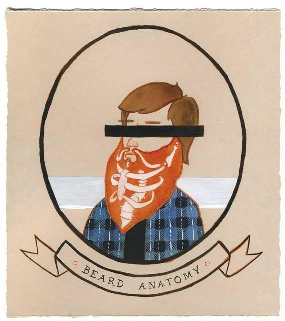 Beard aanatomy. / Anatomia da barba. | Beardporn | Pinterest ...