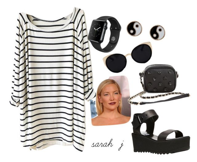 """""""Casual Stripes"""" by shutch1996 on Polyvore featuring Steve Madden, Una-Home, Accessorize and Betsey Johnson"""