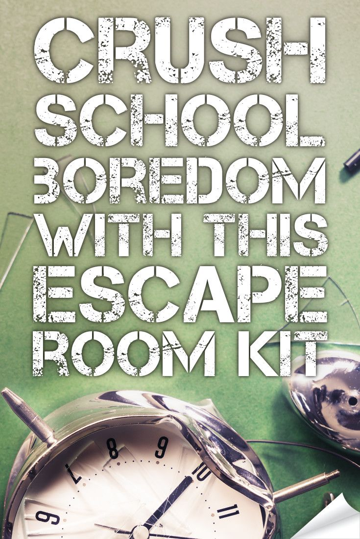 graphic regarding Free Escape Room Printable identify CRUSH clroom boredom with this hack. Heart University