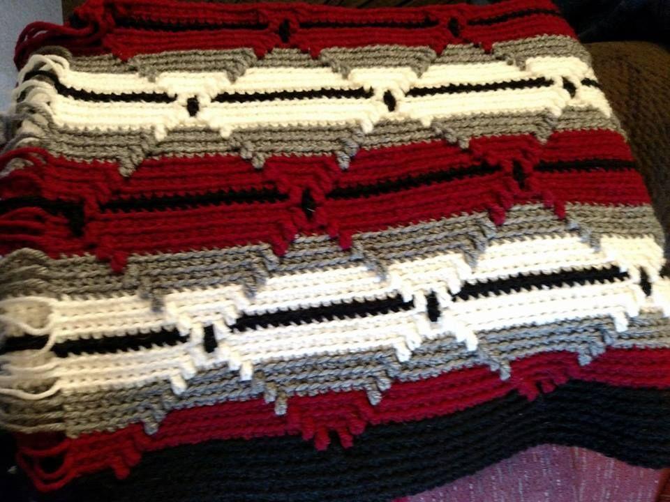 Amazing Häkeln Aran Afghanisch Muster Elaboration - Decke Stricken ...