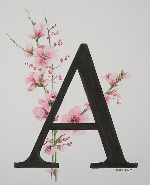 Initial Letter A For Arianna Monogram Wallpaper A Letter Wallpaper Alphabet Wallpaper