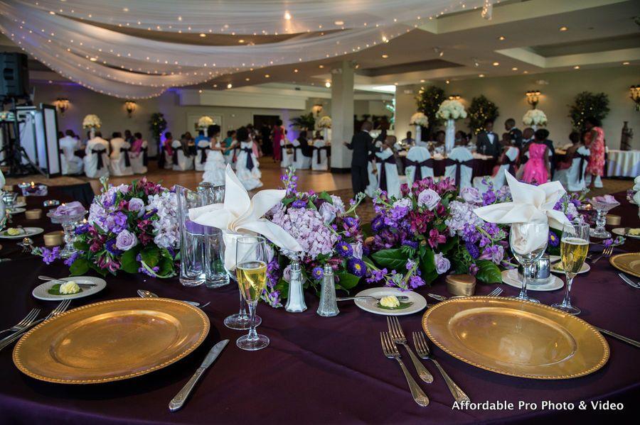 Bride Grooms Reception View At Jacaranda Golf Country Club In Plantation