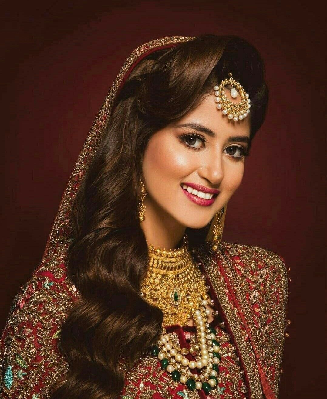 pin by suman zulfiqar on makeup | pakistani bridal wear