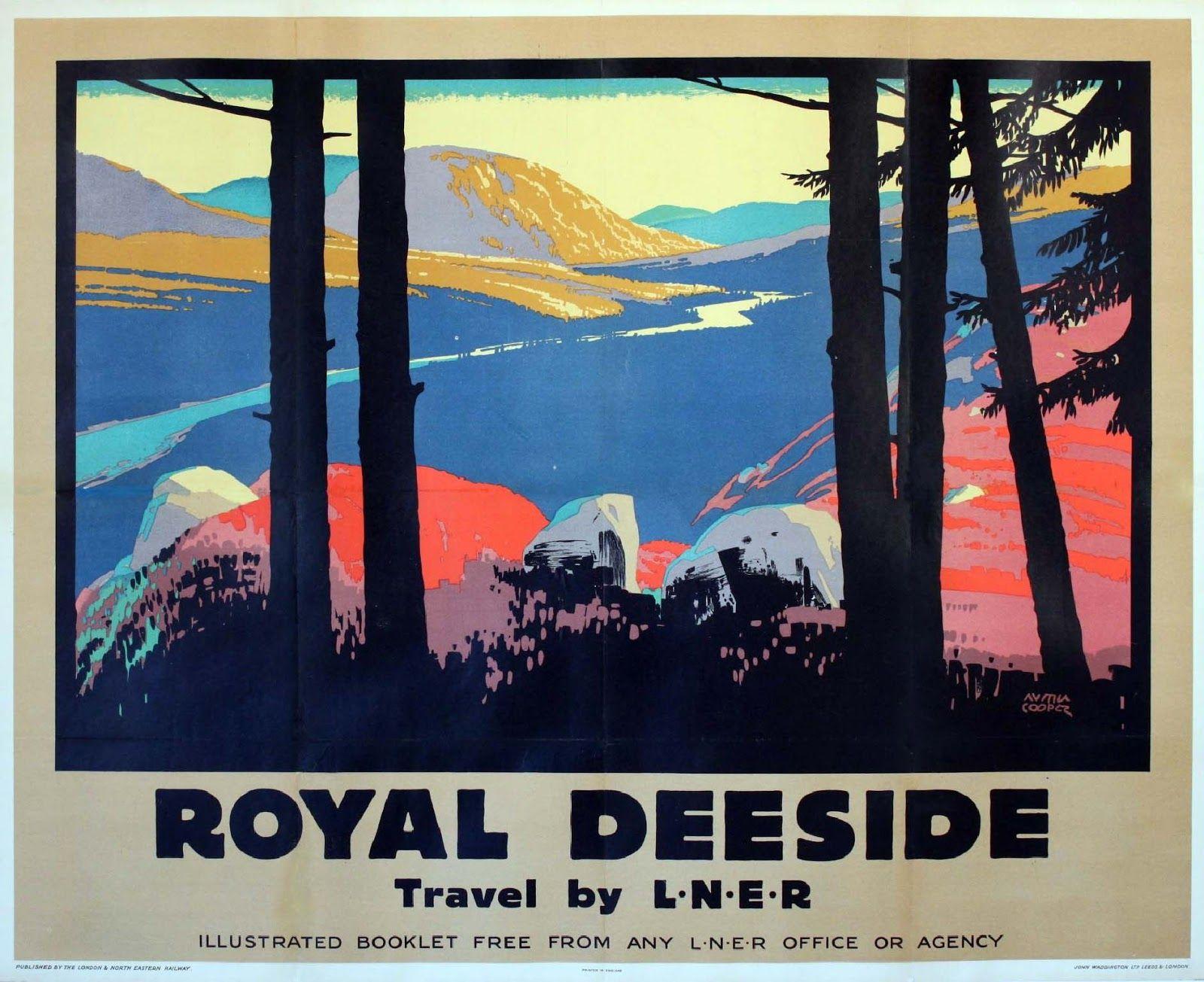 Vintage LNER Northumberland Berwick Upon Tweed Railway Poster A3 A2  Reprint