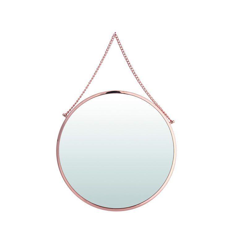Bolina rund spegel, koppar från House Doctor 580 kr