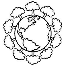 Top 20 Free Printable Earth Day Coloring Pages Online Daisy Troop