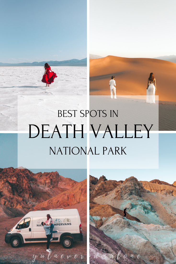 YOUR GUIDE TO THE TOP SPOTS IN DEATH VALLEY