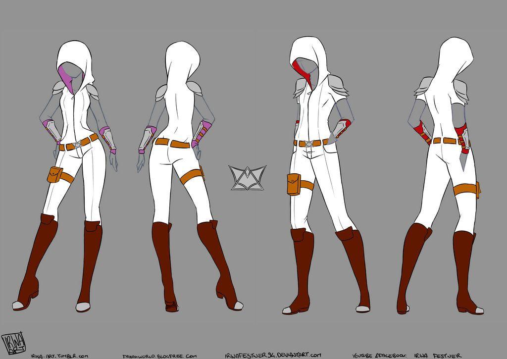Character Design Outfits : A kind of combat uniform by irinafestner viantart