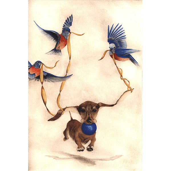 C.C. Barton - Bee Bug and Bluebirds