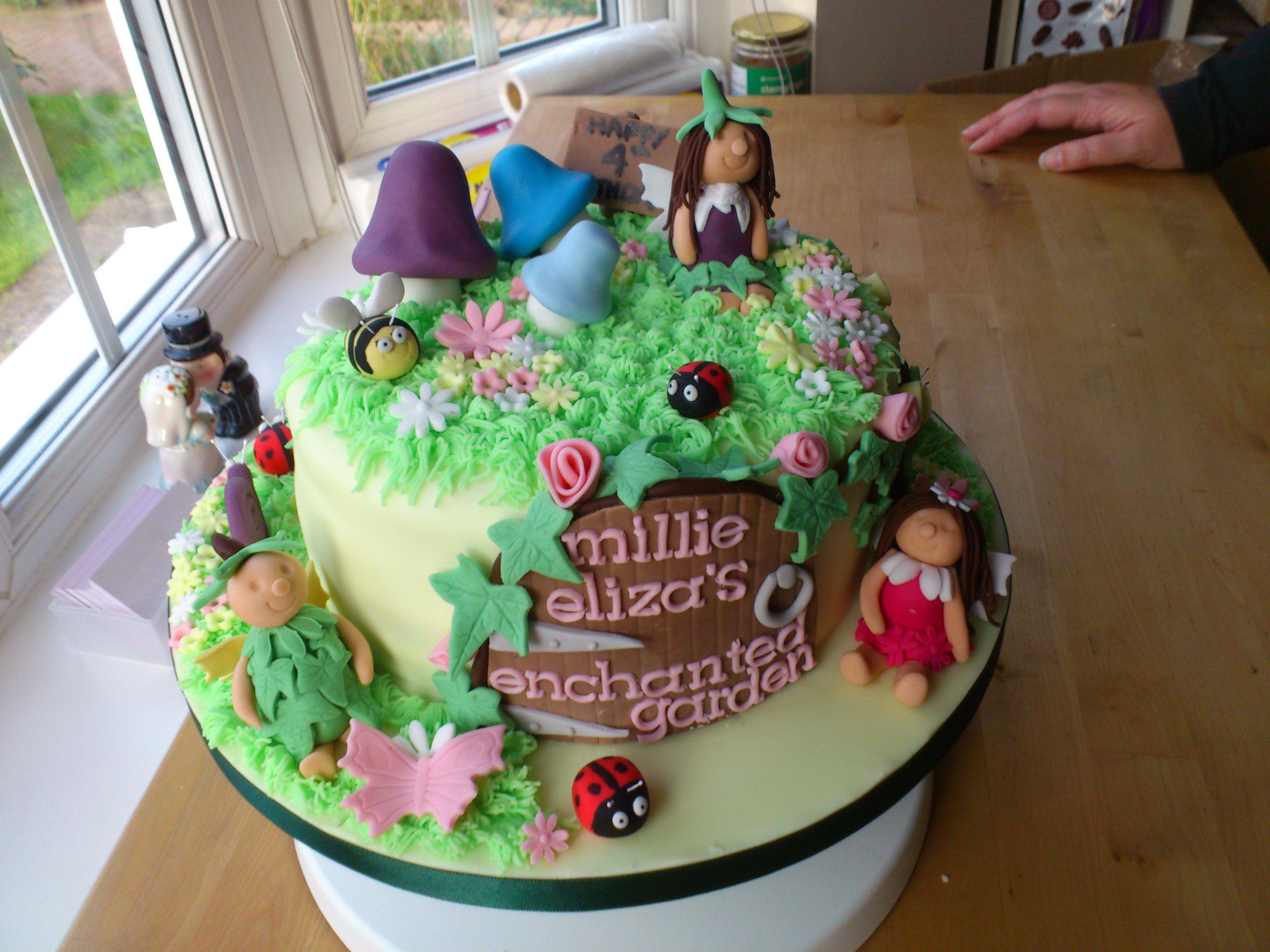 fairy cake pictures Cakes Pinterest Fairy cakes Fairy house