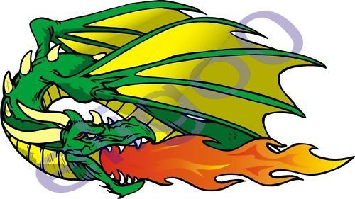 X Dragon Vinyl Sticker For Bumper Laptop Hard Hat Helmet Tablet - Vinyl stickers for motorcycle helmetsdragon hyper reflective decal motorcycle helmet safety sticker