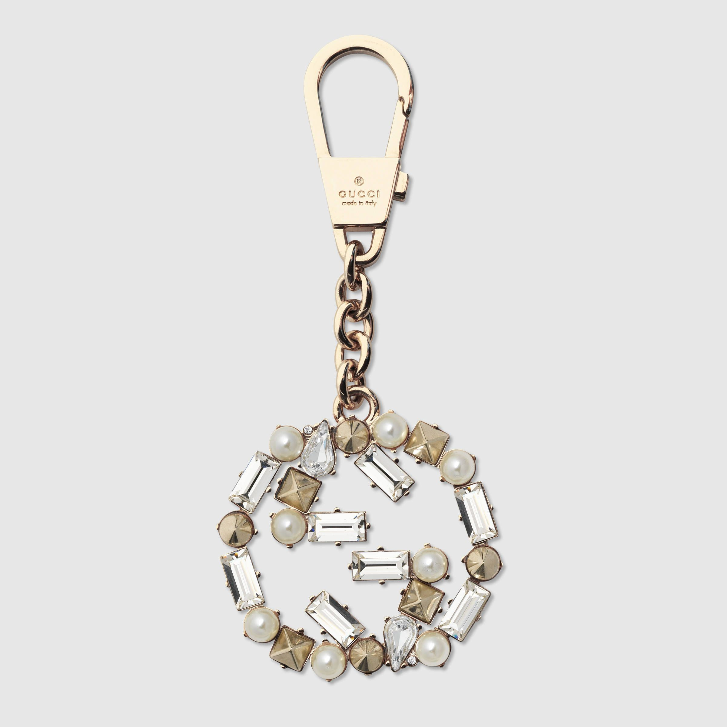 948d8c100c4a Gucci Women - Interlocking G key ring - 388391I12KG8069
