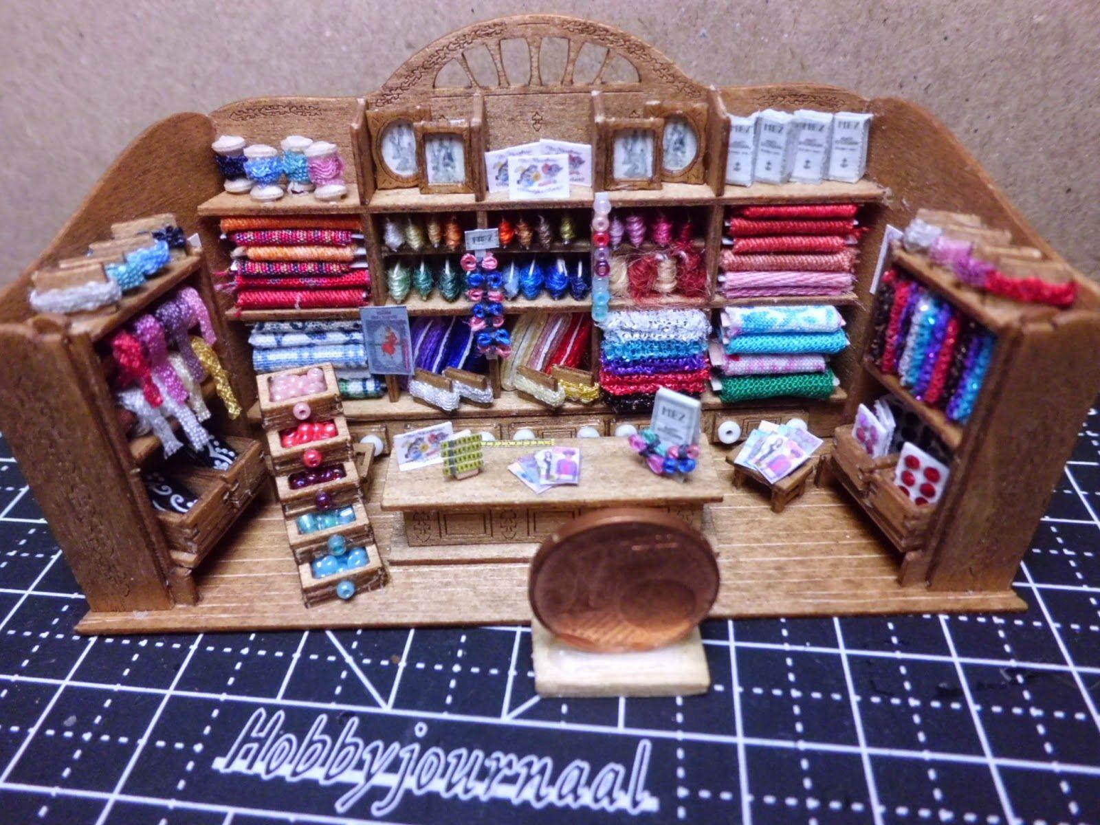 Amica miniaturen in 1 12 stoffladen in 1 144 - Puppenhaus basteln ...